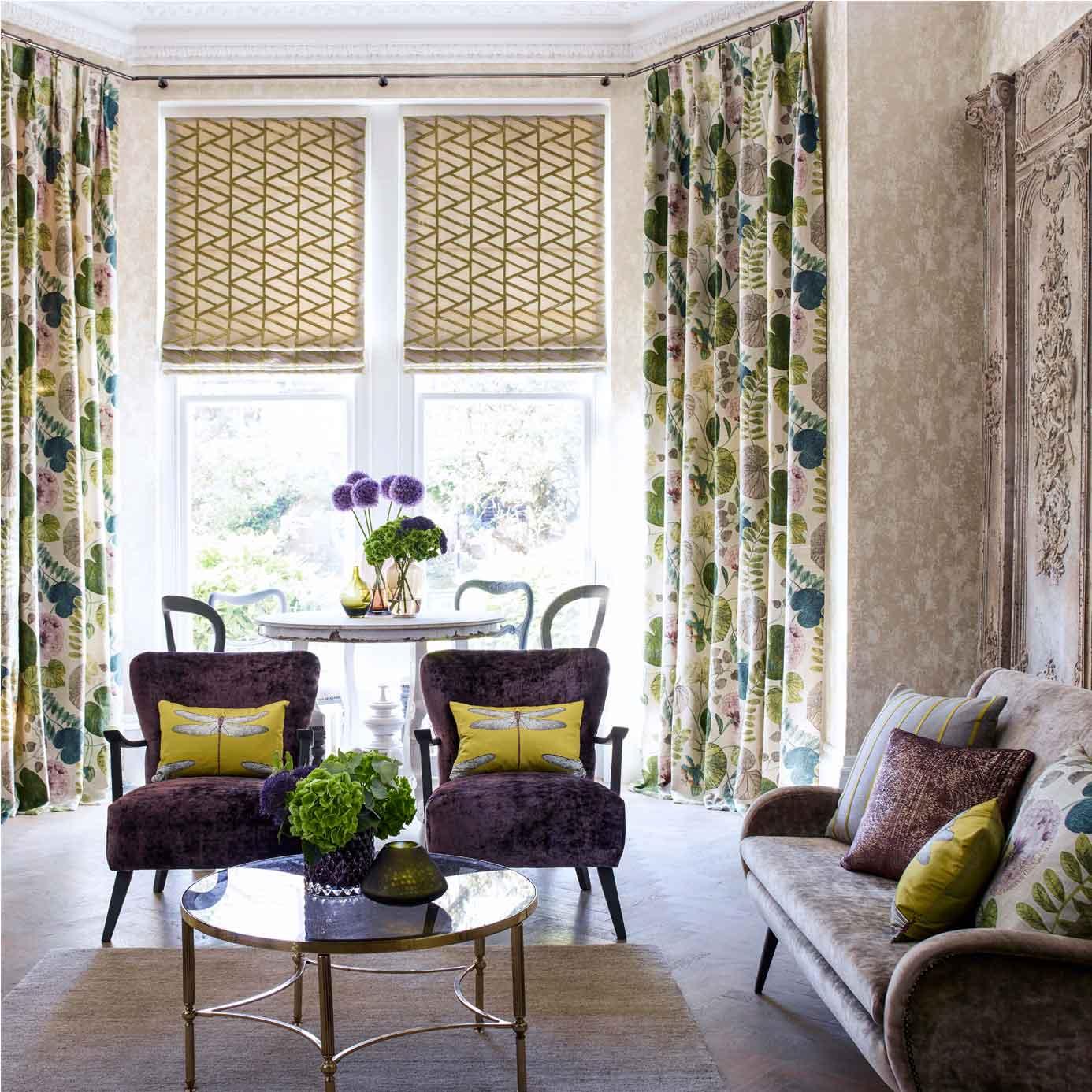 Products harlequin designer fabrics and wallpapers paradise - Harlequin Palmetto Dardanella Dinning Room Green Dardenella Fabric